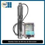 Bomba de Agua Solar de 80 mts de Elevación