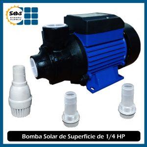 Bomba Solar de Superficie de 1/4 de HP