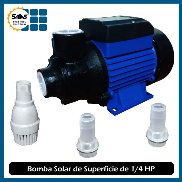 Bomba Solar Superficie - Saas Energy Puebla