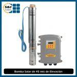 Bomba de Agua Solar de 45 mts de Elevación