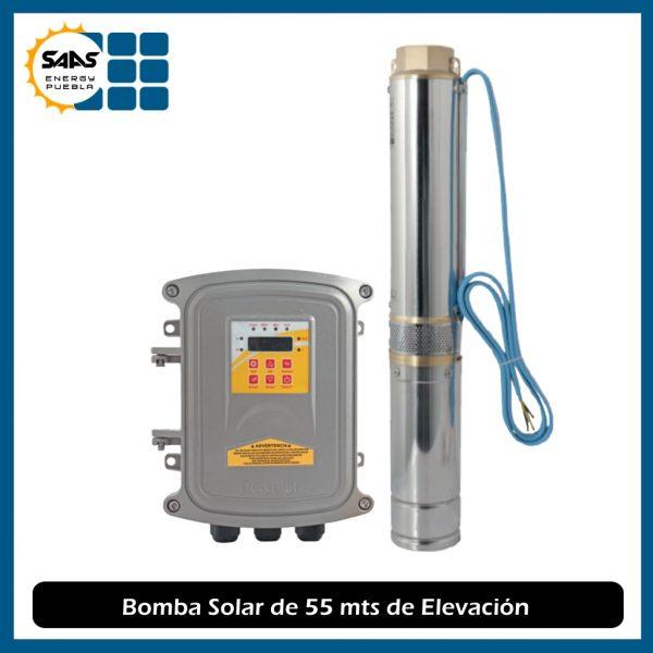 Bomba Solar de 55 mts - Saas Energy Puebla