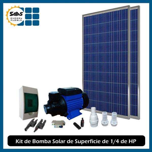 Kit Bombeo Solar Superficie - Saas Energy Puebla