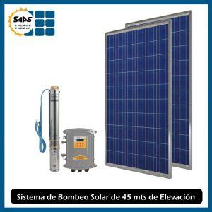 Kit Bombeo Solar 45 mts - Saas Energy Puebla