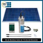 Sistema de Bombeo de Agua Solar de 15 Mts de Elevación Metálico