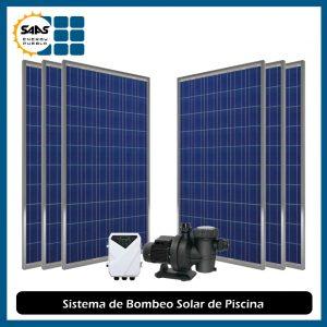 Sistema de Bombeo Solar de Superficie para Piscina