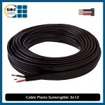 Cable Plano Sumergible 3×12 (10 Metros)
