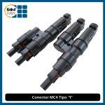 Conector MC4 Tipo Y (Macho y Hembra)