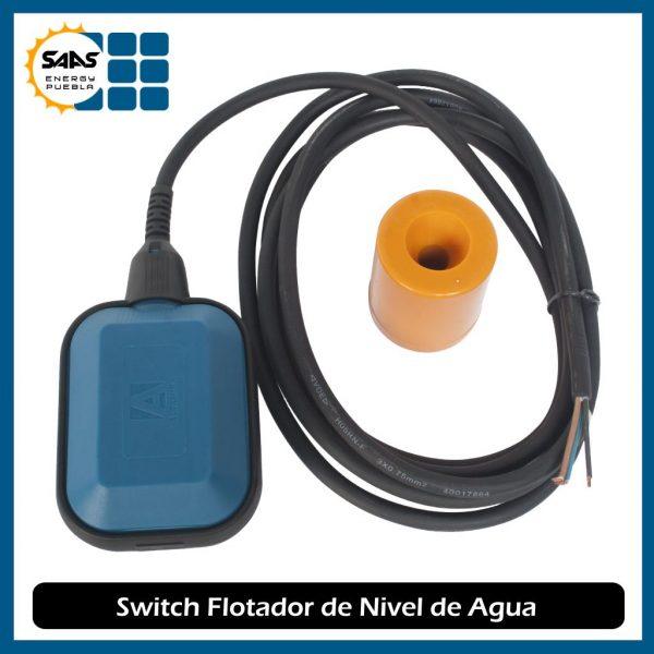 Switch Flotador Eléctrico - Saas Energy Puebla